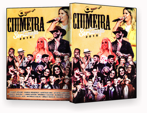 CAPA DVD – Ciumeira Sertaneja – ISO