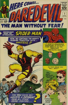 Daredevil #1, black, red and yellow costume