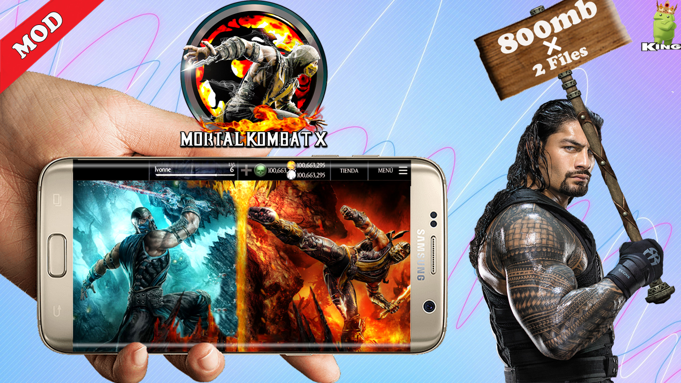 download mortal kombat x for android apk file