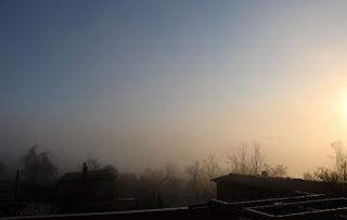 The fog didn't last long