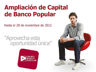 Ampliación de capital de Banco Popular