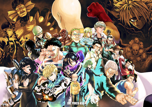 Kumpulan Foto One Punch Man, Fakta One Punch Man dan Video One Punch Man