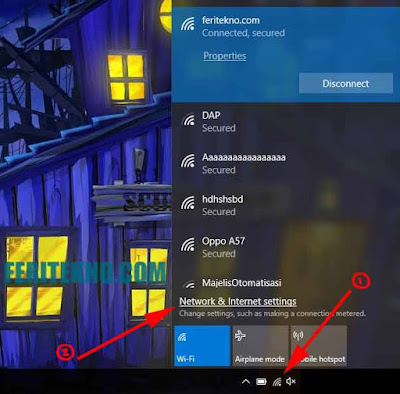 Cara Forget Password Wifi di Windows 10 Terbaru