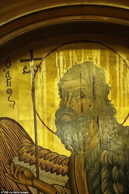 Thousands Flock to Church to See Painting of St John the Baptist 'Miraculously' Sweat