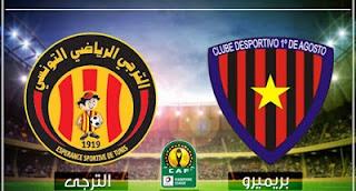 بث مباشر مشاهده مباراة الترجي الرياضي التونسي وبريميرو دي اوجوستو دوري ابطال افريقيا