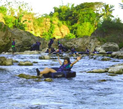 gambar Tegalarum river tubing