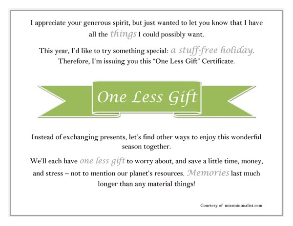 Simple Solutions to Holiday Gift-Giving Craziness