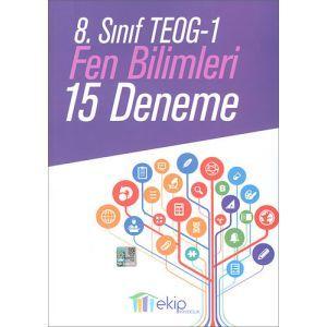 Ekip 8. Sınıf TEOG -1 Fen Bilimleri 15 Deneme