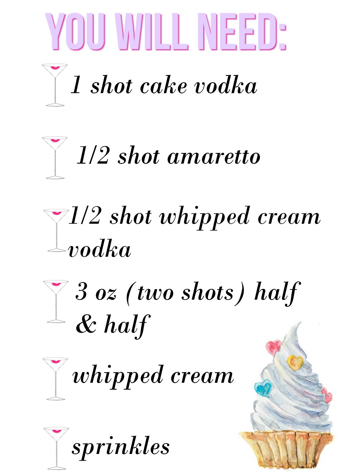 Heather Giustino Blog Cocktail Club The Birthday Caketini