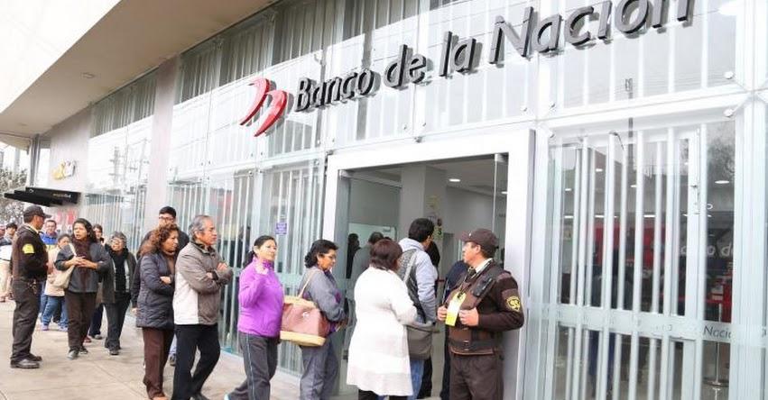 Banco de la Nación pagará a Pensionistas en horario especial desde las 07:00 a 17.30 horas - www.bn.com.pe