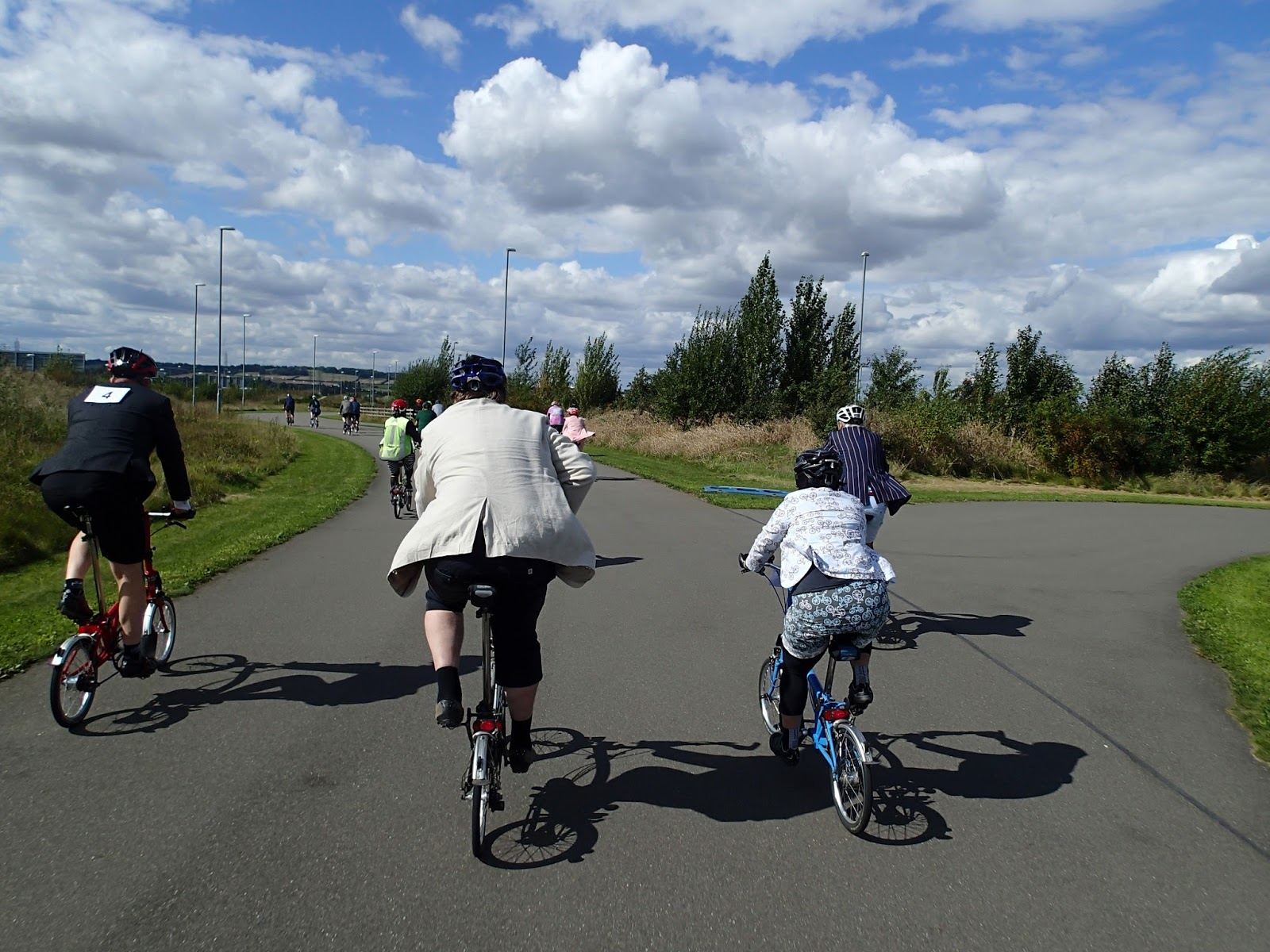 The Legend of the Brompton Bumble B: September 2017