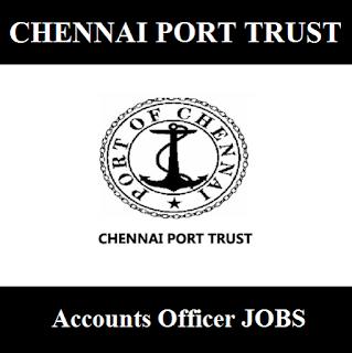 Chennai Port Trust, TN, Tamil Nadu, Port Trust, Account Officer, Post Graduation, freejobalert, Sarkari Naukri, Latest Jobs, chennai post trust logo