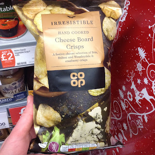 Co Op Irresistible Cheese Board Crisps
