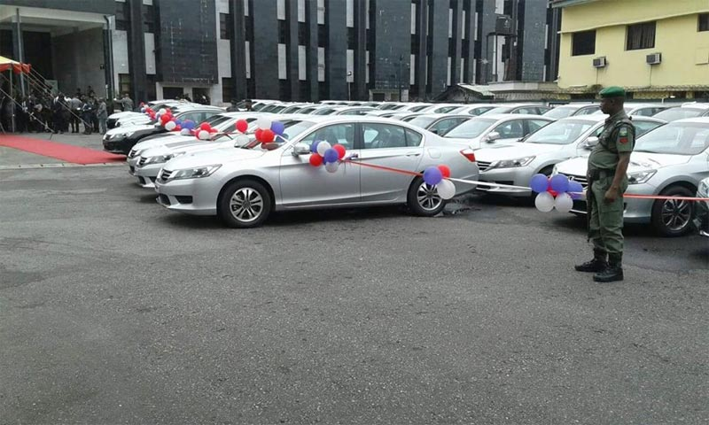 Governor Wike donates Honda cars to judges in Rivers State