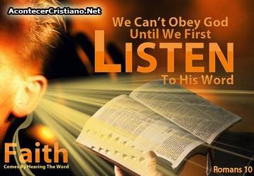 Distribuyen Biblia en audio