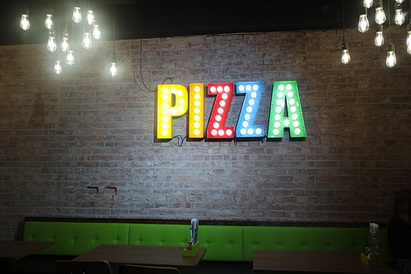 Pizza Sign Manchester