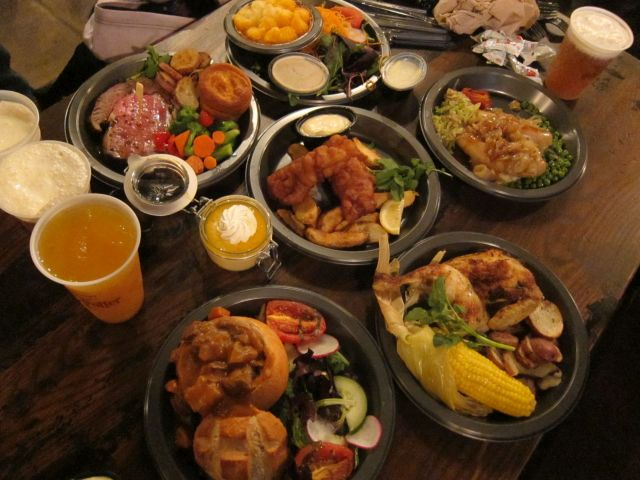 I Ate Everything BritishSounding on the Three Broomsticks Menu at