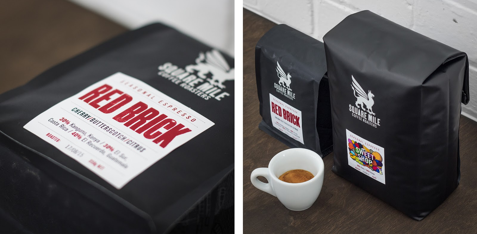 Square Mile Coffee Roasters On Packaging Of The World