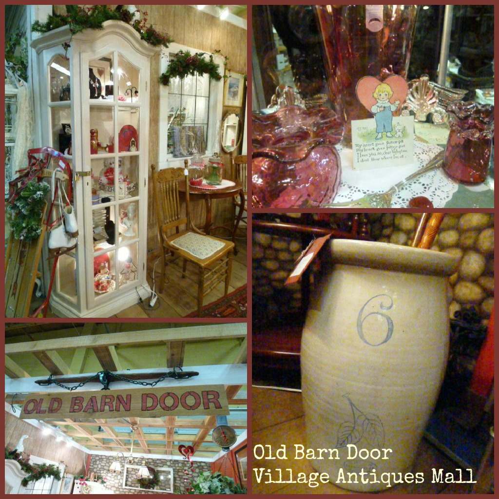 Old Mill Antique Mall Home: Village Antiques Mall: Old Barn Door At Village Antiques Mall