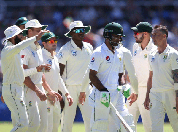 Cape Town Test; Pakistan team out on 177 runs in first innings