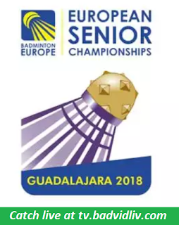 European Senior Championships 2018 live streaming