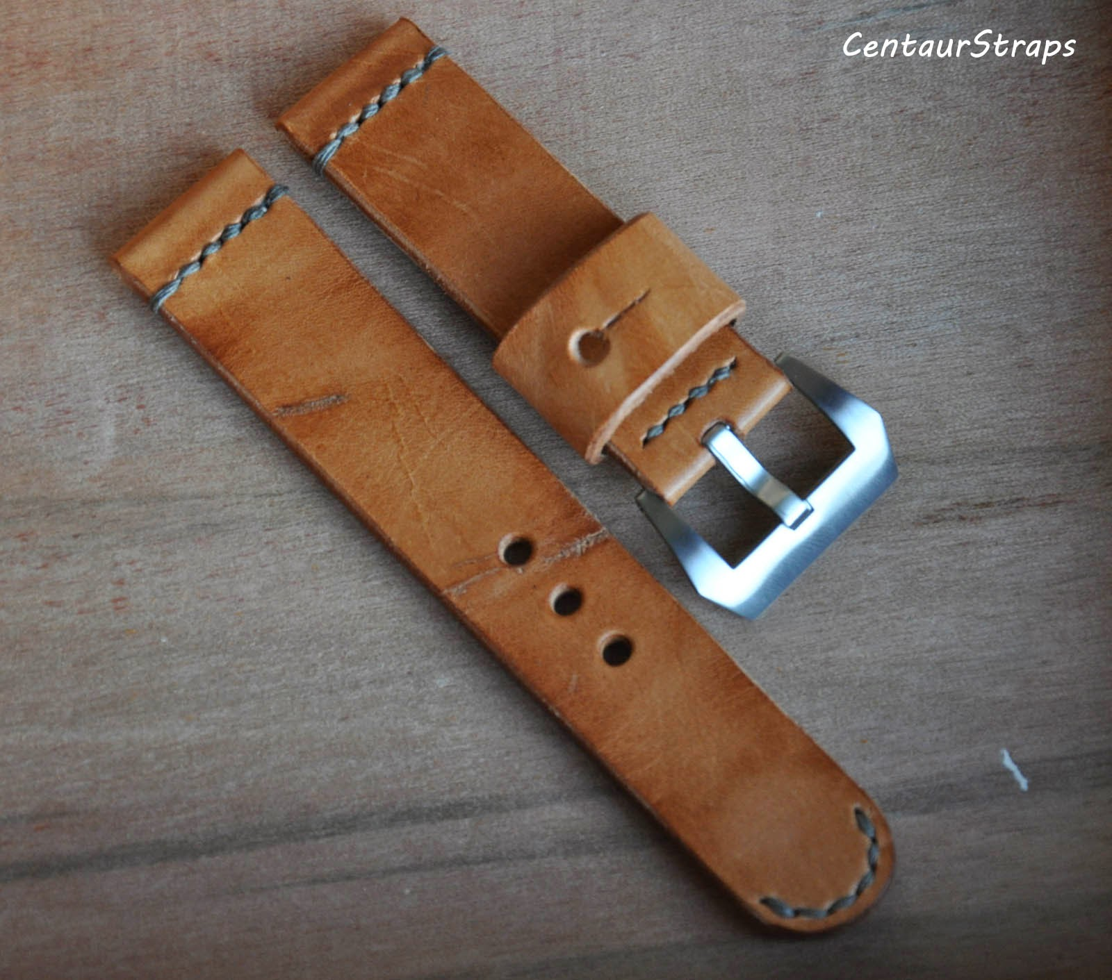 Mm Leather Watch Strap