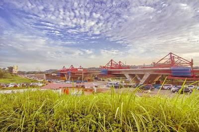Pembangunan Flyover Simpang Jam Batam