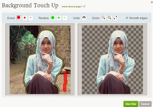 hapus Background Foto Online
