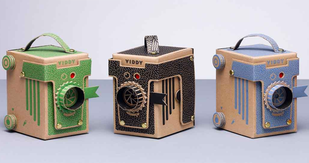 VIDDY POP UP PINHOLE CAMERA