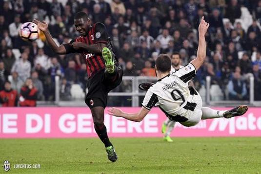 Juve 2-1 AC Milan Sabtu 11 Maret 2017