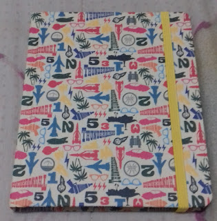 Cuaderno thunderbirds