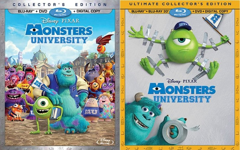 Monsters university short party central to be included for 2 box auto con stanza bonus