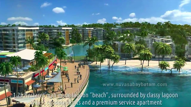 Nuvasa Bay Batam Beach Lagoon
