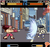 Fatal Fury sur NeoGeo Pocket Color