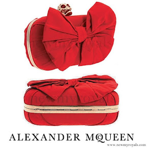 Kate Middleton style ALEXANDER MCQUEEN Clutch