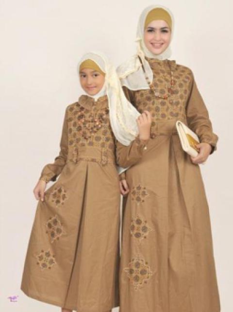 baju muslim ibu dan anak
