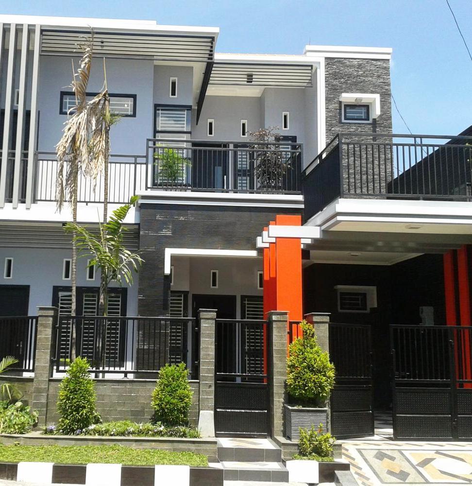 50 Rumah Minimalis 1 Lantai 2 Lantai Tampak Depan Samping