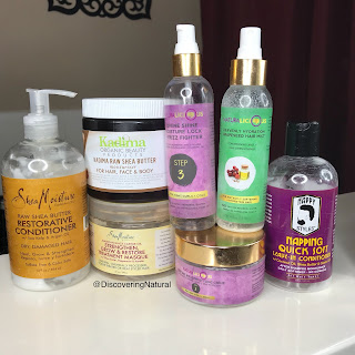 Natural Hair Products Empties | NOVEMBER 2017 | SheaMoisture, Kadima, Naturalicious, Nappy Styles