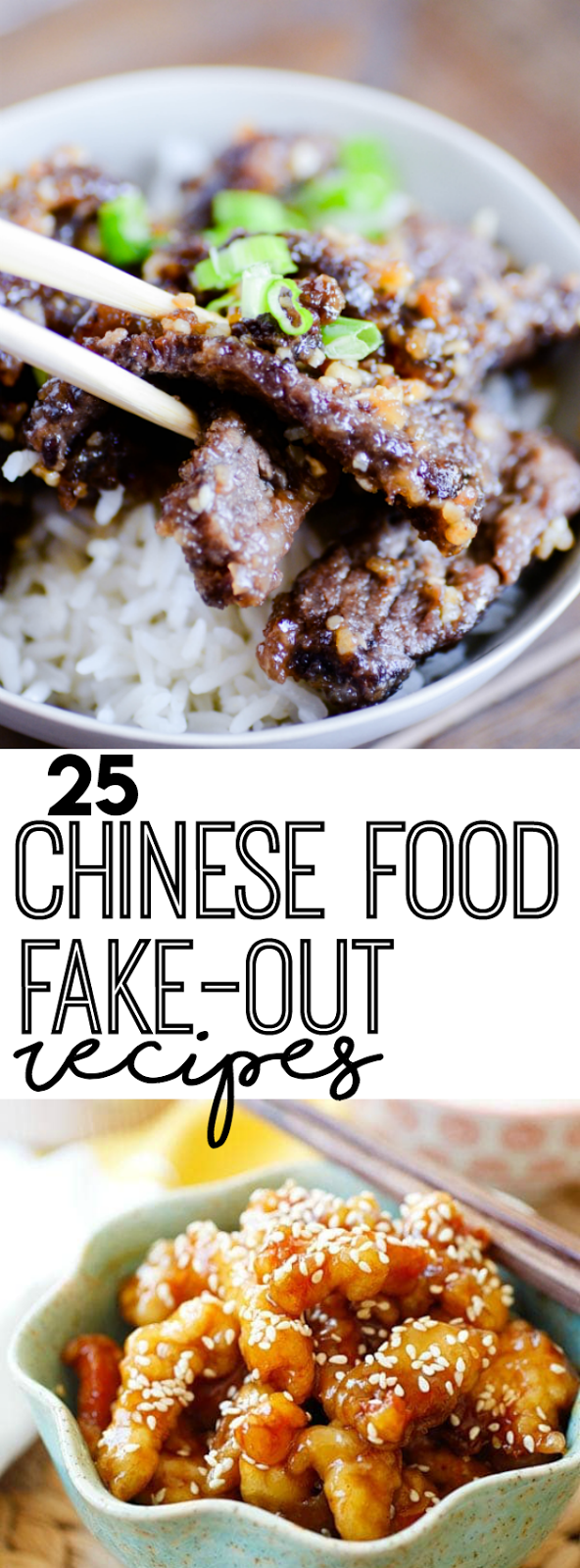 If you love Chinese take-out, these 25 recipes are must-try copycats of all your favorites!