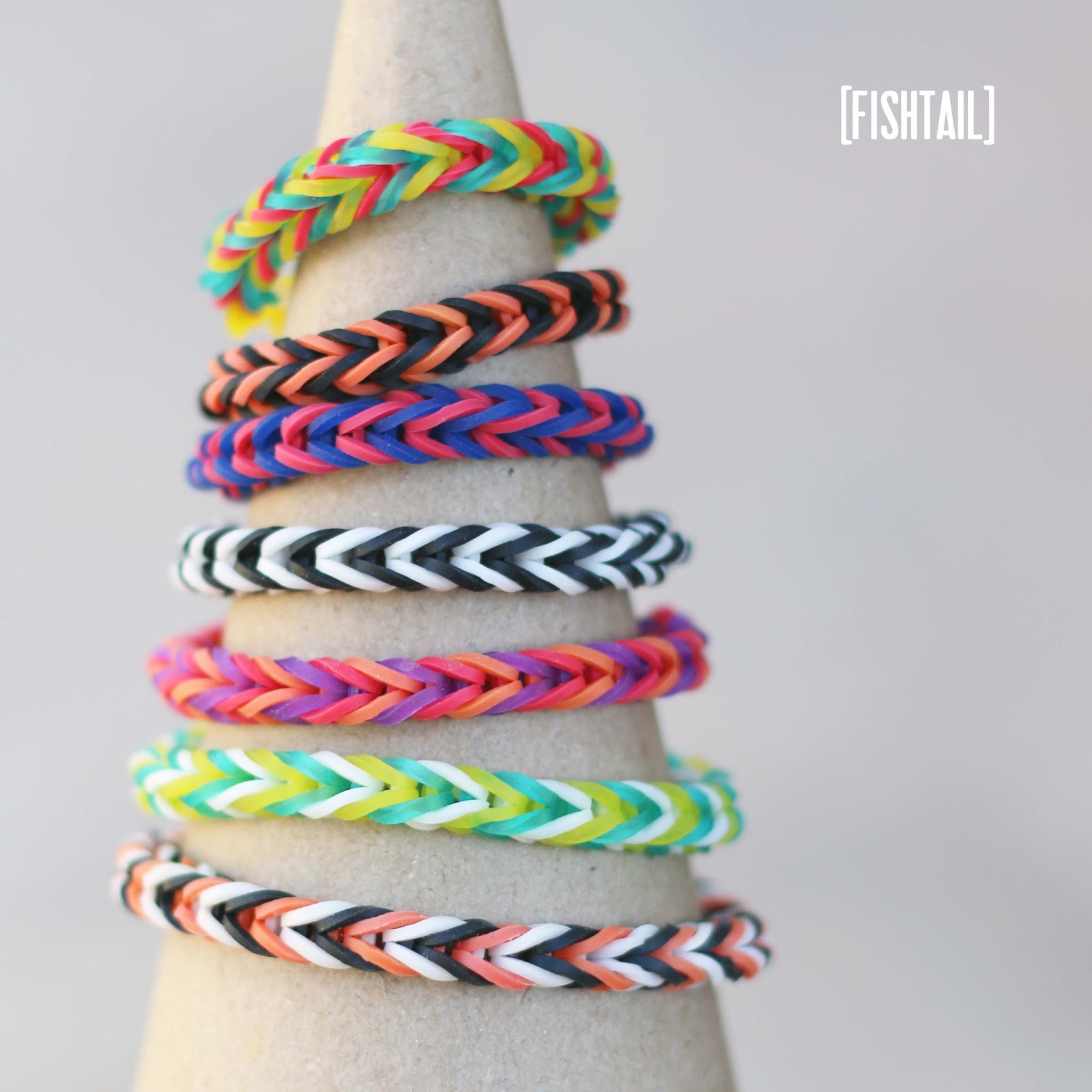 how to make a fishtail rubber band bracelet make rainbow loom bracelets a tutorial up 183