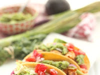 Spicy Grilled Shrimp Tacos with All The Fixins Recipe