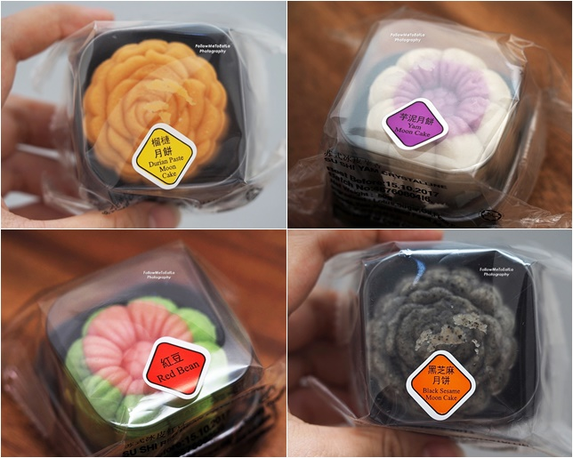 Yong Sheng Su Shi Crystalline Moon Cake Matcha, Mango,  Strawberry, Yam, Black Sesame, Red Bean, Durian & Chocolate