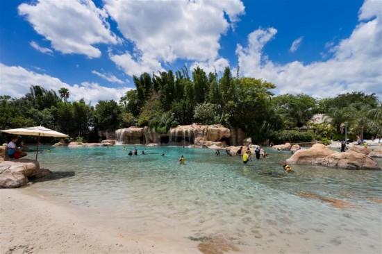 Discoery Cove Orlando - Praia