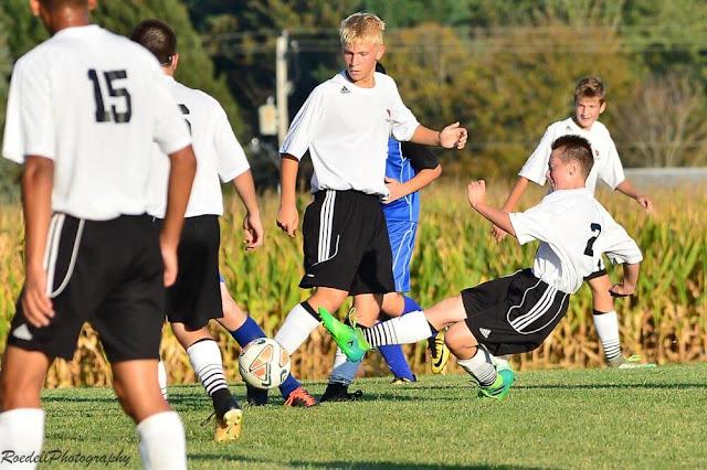 MTHS JV Soccer Vs Limestone 09192017, Metamora Herald