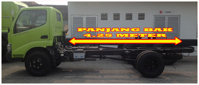 panjang truk hino dutro 130 hd xpower