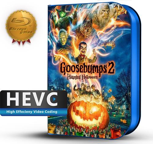 Goosebumps 2: Haunted Halloween (2018) 1080P HEVC-8Bits BDRip Latino/Ingles (Subt.Esp)(Comedia, Familiar)