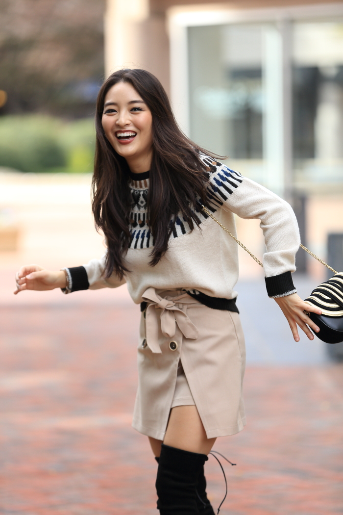 Khaki Miniskirt