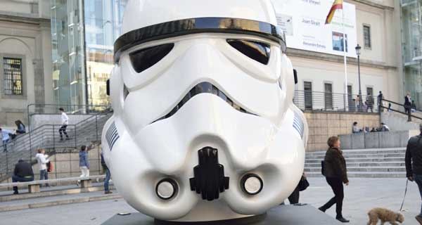 "Exposicion ""Face the Force"" de Star Wars"