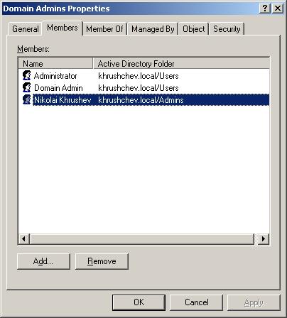 Enumerate Group Membership 17