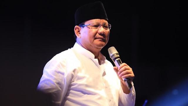 Prabowo: Jangan-jangan Pembakar Tulisan Tauhid Disuruh Agar Kita Marah